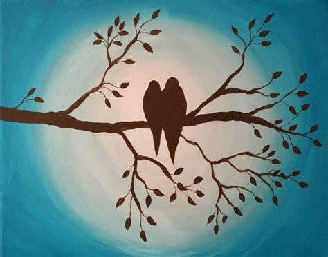 easy acrylic painting ideas trees best 20 easy acrylic paintings ideas on