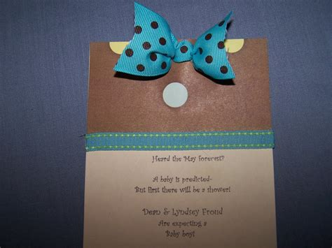 make a baby shower card mccash family baby shower cards