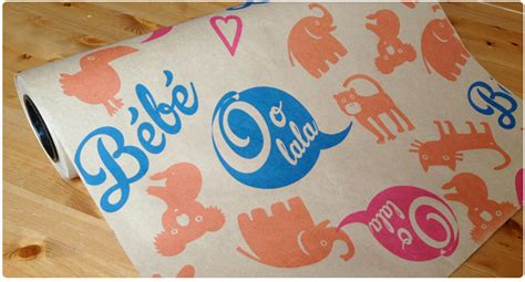 printing on craft paper brown kraft wrapping paper from jukeboxprint