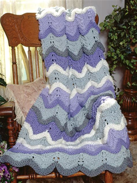ripple afghan knit pattern classic afghan knitting patterns afghan free