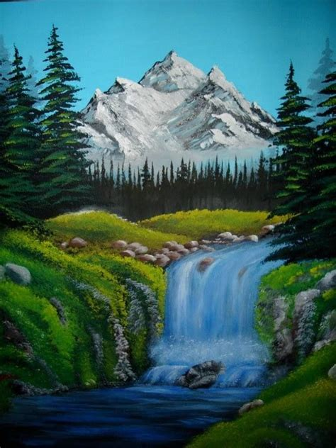 bob ross paintings mountains 25 beautiful scenery paintings ideas on
