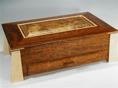 decorative jewelry boxes ideas a unique jewelry box handmade of exotic woods makes the