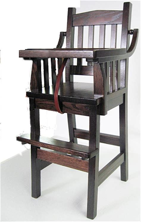 high chair woodworking plans woodwork amish wood high chair pdf plans