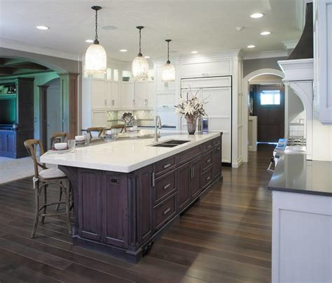 Kitchen Island Wine Rack restoration hardware style home transitional kitchen