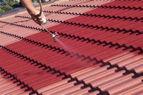 spray painting roof tiles roof cleaning and maintenance tips hirerush