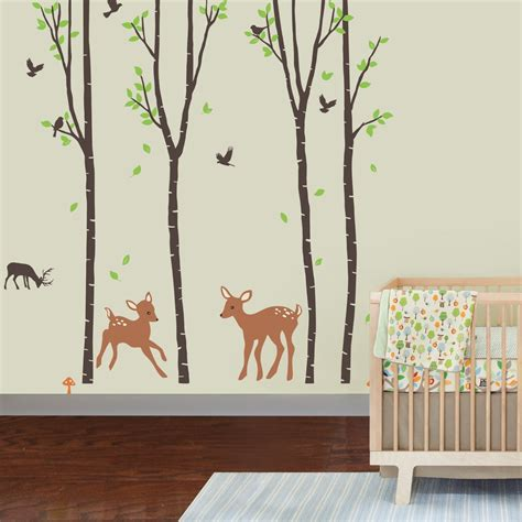 nursery decals for walls jungle wall decals theme ba room nursery image of for