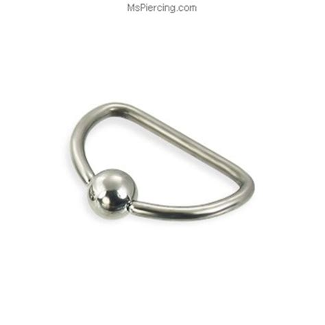how to use a captive bead ring d ring 16 ga at mspiercing