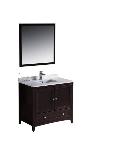36 single sink bathroom vanity 36 inch single sink bathroom vanity in mahogany uvfvn2036mh36