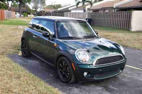 how cars work for dummies 2009 mini cooper sell used mini cooper 2009 green in miami florida united states for us 10 900 00