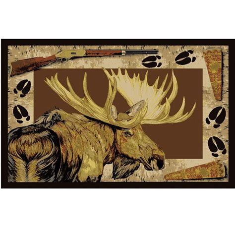 moose area rug moose call area rug