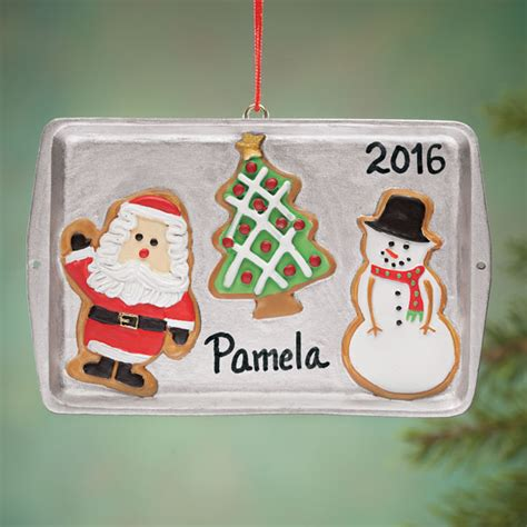 sheet ornaments personalized cookie sheet ornament ornament
