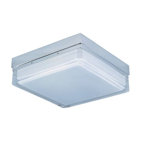 square flush mount ceiling light et2 lighting e21038 01pc 2 light flux square flush mount