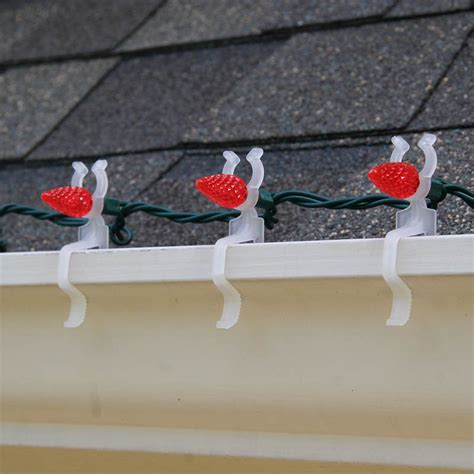 light for gutters and shingles how to hang lights on gutters