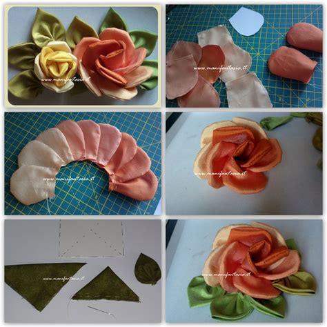 roses tutorial di stoffa fai da te tutorial manifantasia
