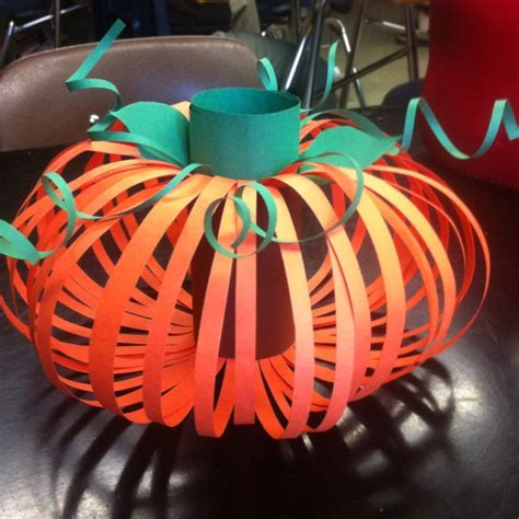 thanksgiving construction paper crafts pumpkin made from a toilet paper roll and construction