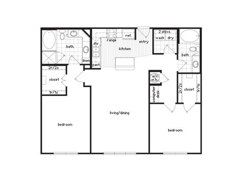 2 bedroom 2 bath floor plans 36sixty floor plans 1 2 bedroom luxury apartments houston
