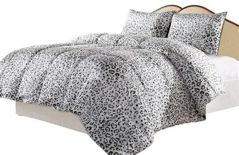 leopard king comforter set snow leopard reversible alternative comforter set