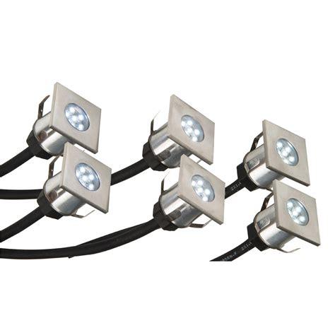 led light kits led deck light kit stainless steel exst4145k crompton