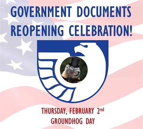 groundhog day us tour government information open house and groundhog s day