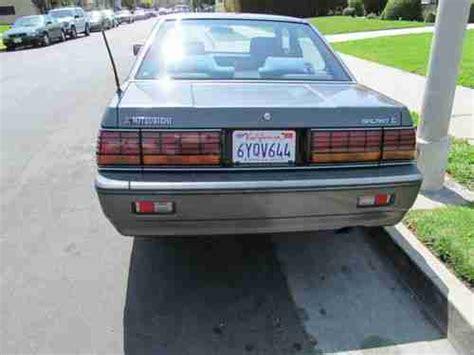 auto air conditioning service 1989 mitsubishi sigma seat position control buy used 1988 mitsubishi galant sigma sedan 4 door 3 0l in los angeles california united states