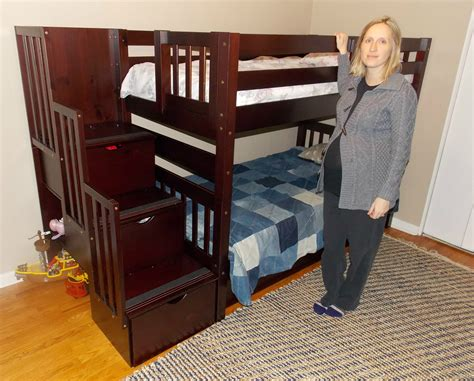 height of bunk bed thinking of getting bunk beds the