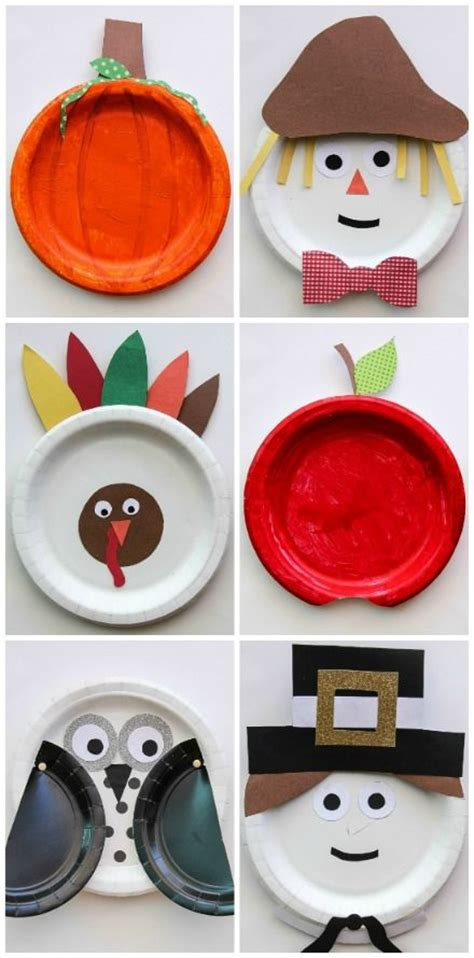 paper plate fall crafts fall paper plate crafts for for