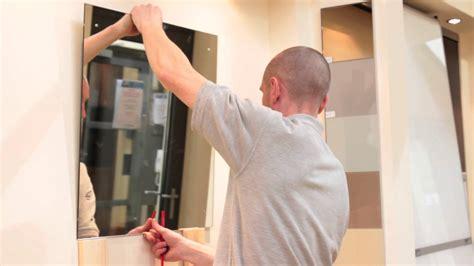 install bathroom mirror mirror installation