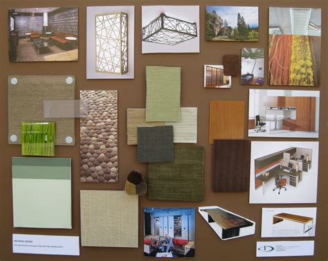 duong designs 187 office concept floorplan material board