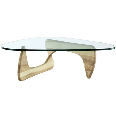 tribeca coffee table noguchi table triangle coffee tables modernindesigns