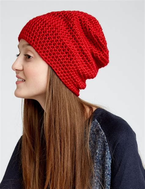 how to knit a slouchy beanie for beginners 25 unique slouchy beanie pattern ideas on