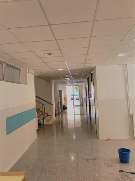 instalar lara techo suelos pvc colegio jos 233 alba vilavella castell 243 n ideas