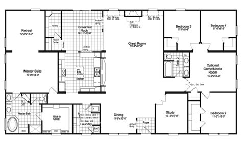palm harbor mobile home floor plans the evolution scwd76x3 or vr41764c home floor plan