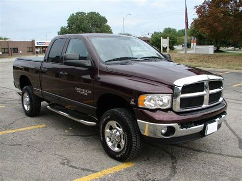 auto air conditioning service 2005 dodge ram 2500 transmission control purchase used 2005 dodge ram 2500 4x4 auto quad cab slt big horn 5 9 turbo diesel 39 144 miles