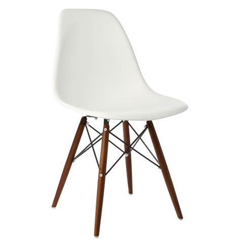 eames chair white eames style dsw molded white plastic dining shell chair