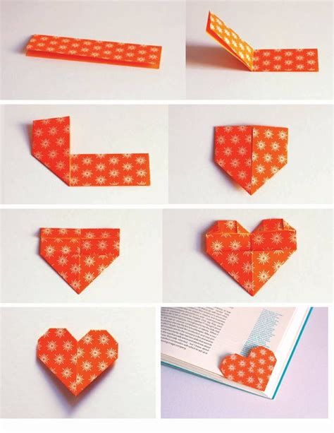how to make an origami bookmark make a shaped origami bookmark to keep track of