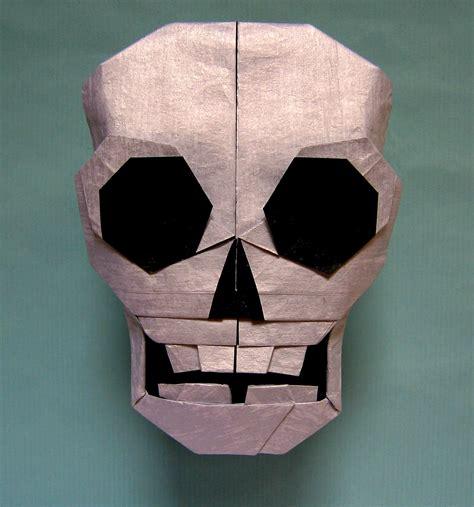 skull origami 21 more spooky origami models for