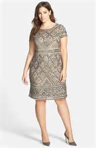 plus size beaded dress papell beaded sheath dress plus size nordstrom