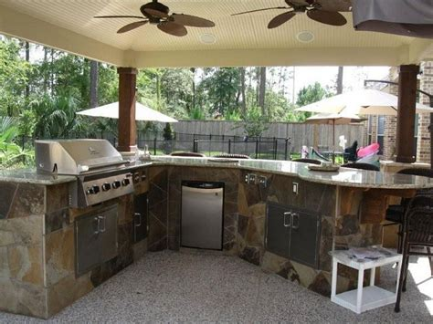 back yard kitchen ideas outdoor kitchen design for a wonderful patio amaza design