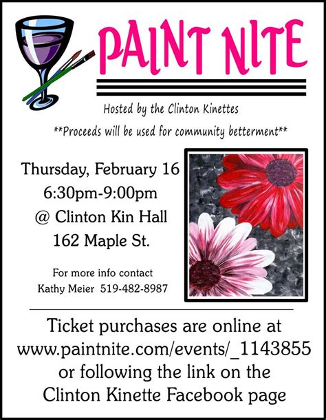 paint nite nyc calendar clinton kinettes paint nite district one kin