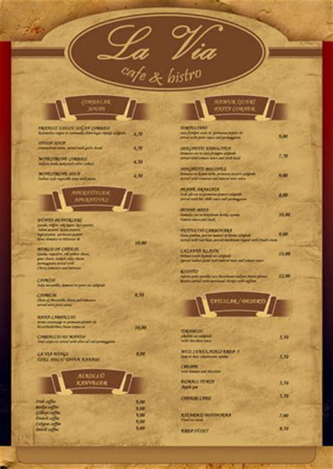 how to make menu card for restaurant restaurant menu cards design images