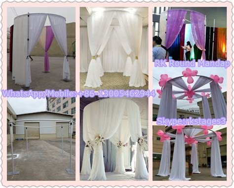 decorations sales wedding stage decoration backdrop design sle pipe and
