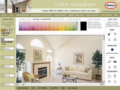 home depot paint color visualizer interactive color picker for glidden paint eyemg web