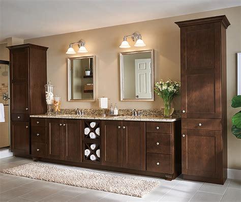 bathroom cabinetry designs wood cabinets in a transitional bathroom aristokraft