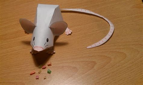 mouse paper craft mouse papercraft by whiterstar on deviantart