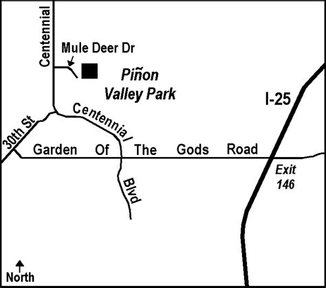 Garden Of The Gods Exit Bfc Pinon Valley Park