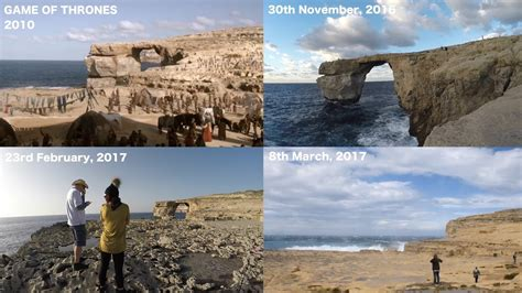 azure window collapses before and after the azure window collapse