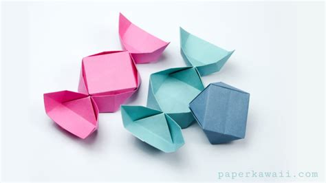 easy origami box origami box with lid easy www imgkid