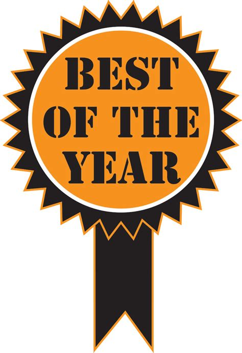 Best Of The Year Sticker Free Stock Photo Domain