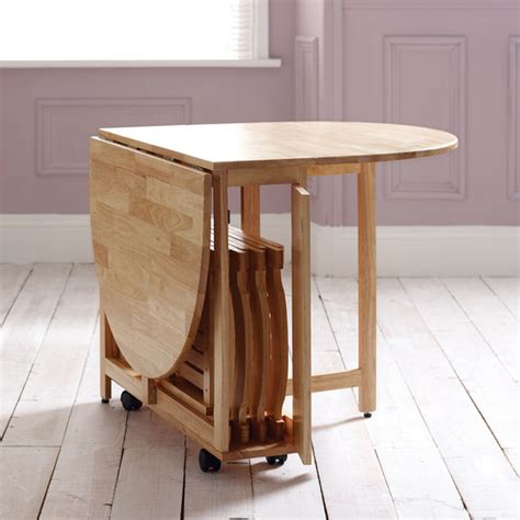 Fold Down Dining Room Table by Choose A Folding Dining Table For Your Small Space