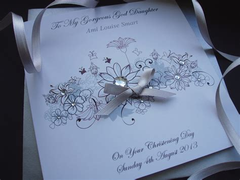 christening cards to make floral christening card handmade cards pink posh